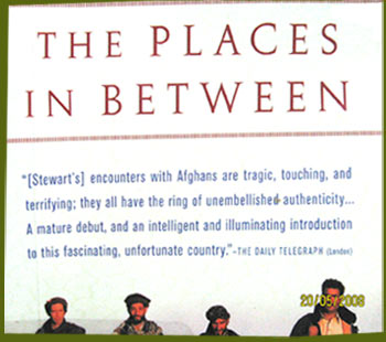 Afghanistan travel book by Rory Stewart